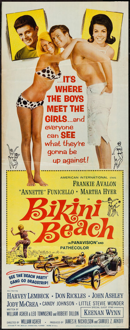 bikini beach 1964 poster