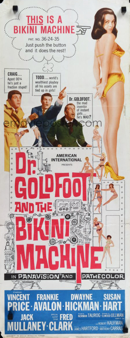 Dr goldfoot long poster