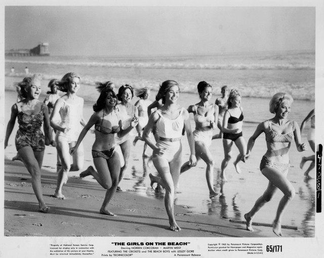 Girls on the Beach, The 1965 production still