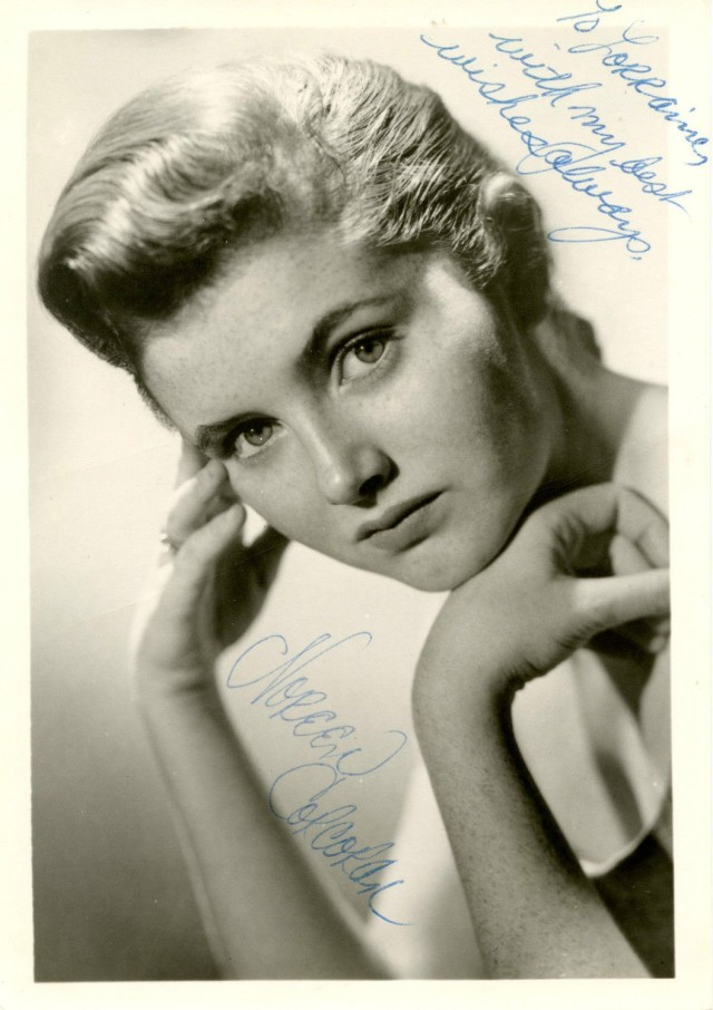 NOREEN CORCORAN Vintage 1950s Autographed Photo HAND SIGNED
