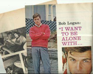 Robert Logan (b.1941) clippings
