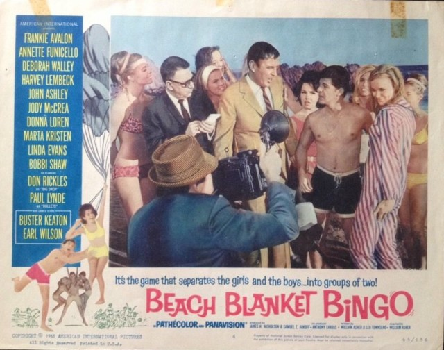 BEACH BLANKET BINGO FRANKIE&ANN FREE SHIPPING