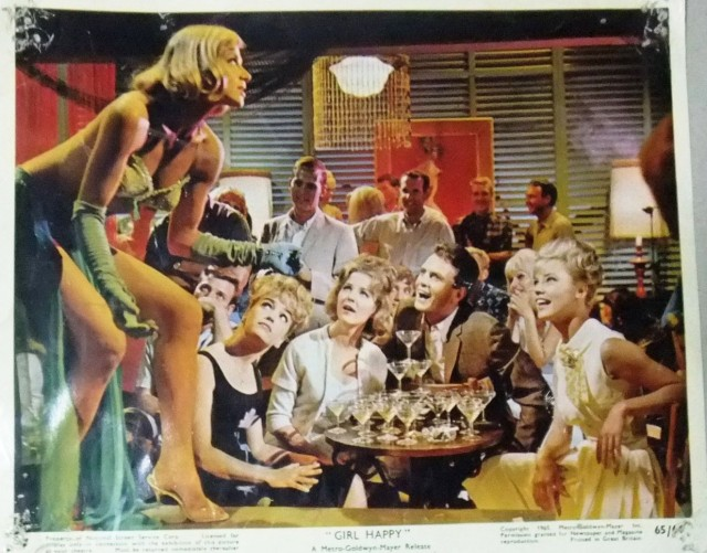 Girl Happy Vintage Original Still Lobby Card 60s