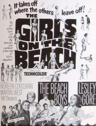Girls On The Beach Pressbook