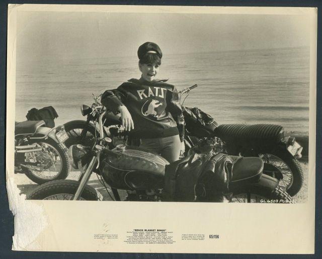 Beach Blanket Bingo '65 MOTORCYCLES