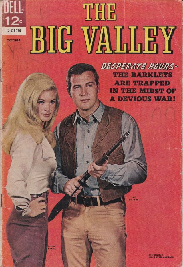 Linda Evans Big Valley #5. VG-. 1967