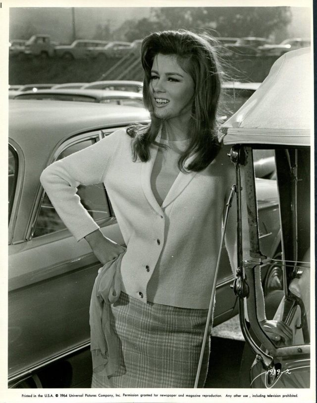 PAMELA TIFFIN in The Lively Set '64 CARS PARKING LOT