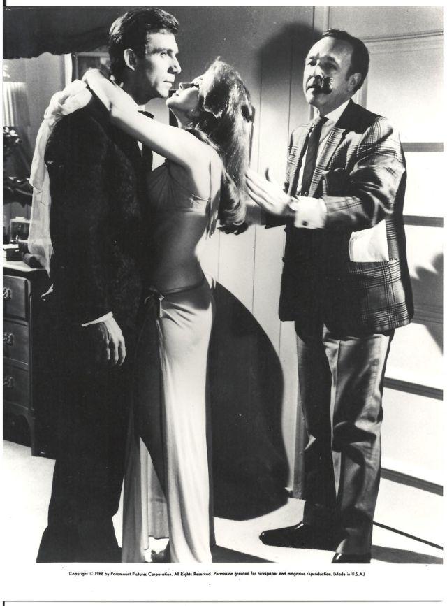 swinger ANN-MARGRET TONY FRANCIOSA FILMING US ORIG B_W PHOTO 7x9$_57