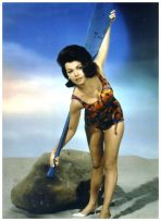 Annette Funicello colored