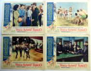 BEACH BLANKET BINGO '65 Film LOBBY CARDS w: ANNETTE FUNICELLO Autograph3