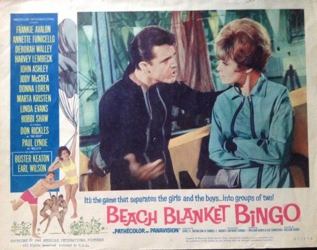 BEACH BLANKET BINGO ANNETTE Old FREE SHIPPING