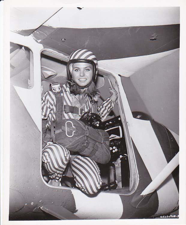 BEACH BLANKET BINGO, Great 1965 Sexy Skydiver Donna Michelle, Teen Film Photo #1