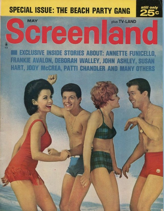 Beach Girls #1 Summer 1965--Annette-Frankie-Deborah Walley-Lesley Gore-FN