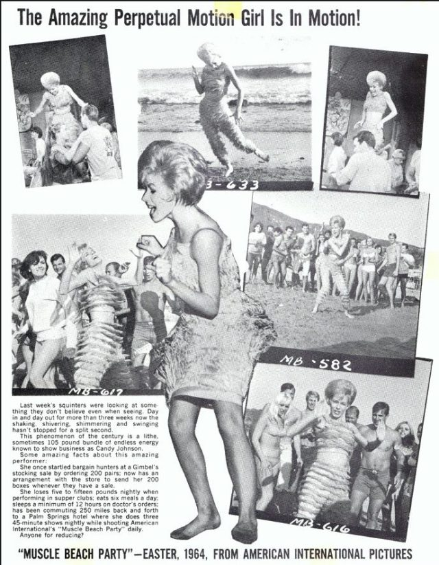 Candy Johnson magazine