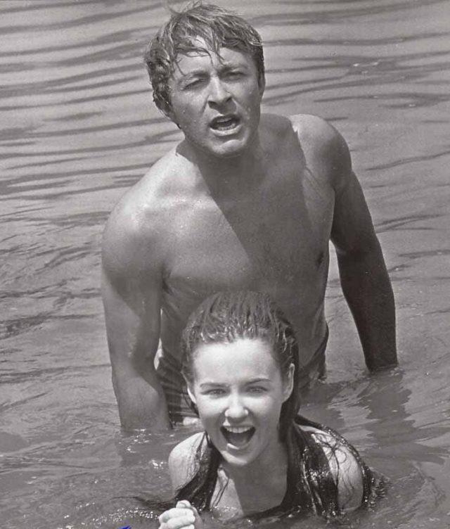 Clambake Bill Bixby Shelley Fabares water
