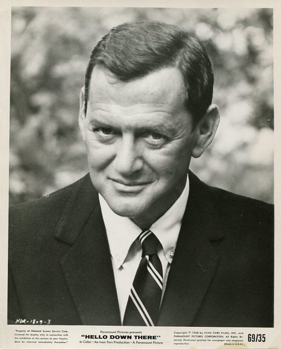 Hello Down There-Tony Randall-8x10-B&W-Promo Still