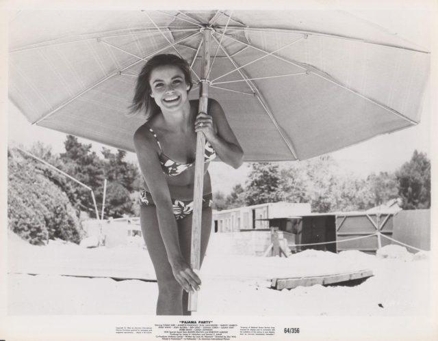 PAJAMA PARTY PINUP PHOTO, NM, 1964 $_57