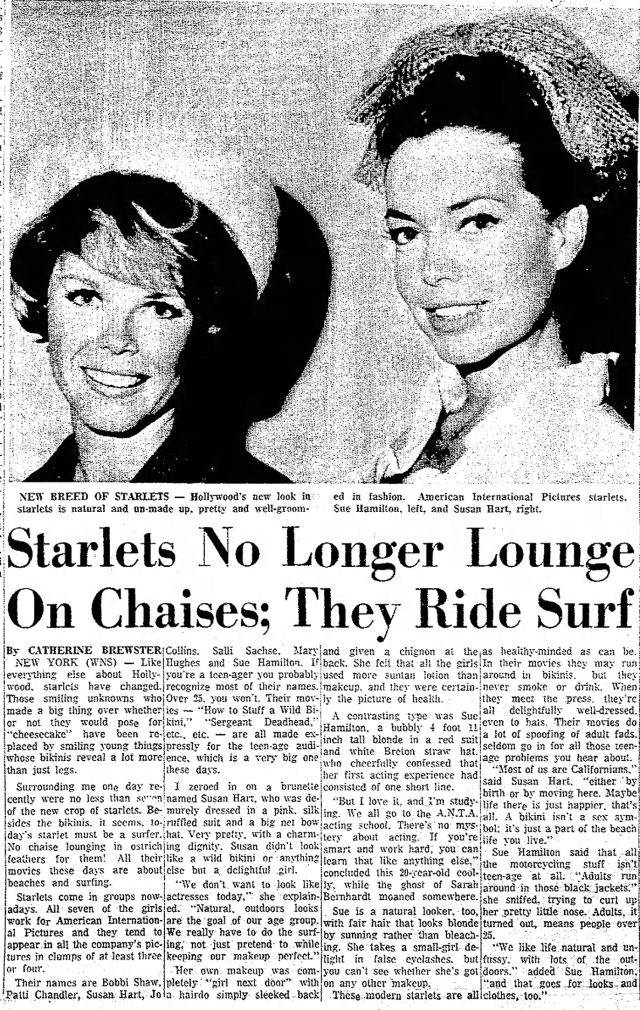 Starlets Hobbs_Daily_News_Sun_Sun__Aug_22__1965_