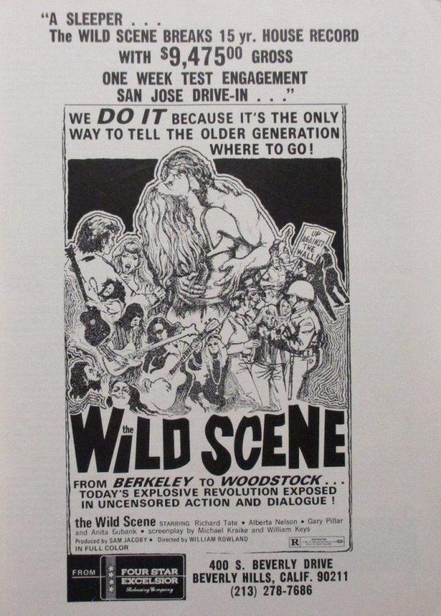Alberta Nelson 1970 Boxoffice Mag(THE WILD SCENE_RICHARD TATE_ALBERTA NELSON_THE MODERN THEATRE
