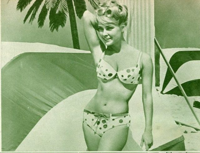 CHRIS NOEL, JOCELYN LANE, SUSAN HART Bikini 1965 JPN PICTURE CLIPPING 7x10#LF:V