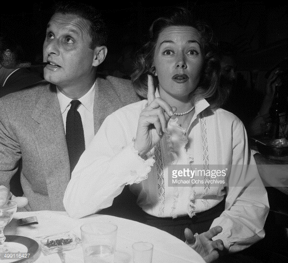 Cy Howard and wife Gloria Grahame