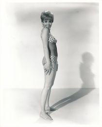 Deborah Walley - mesh bikini