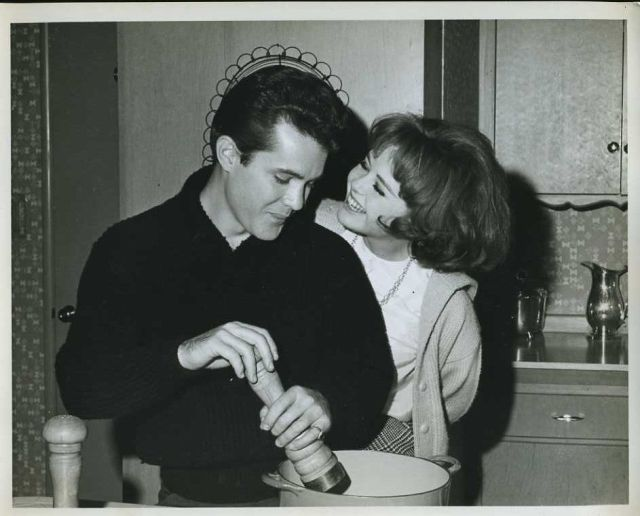 "Deborah Walley John Ashley Original 8x10"" Photo #Z493"