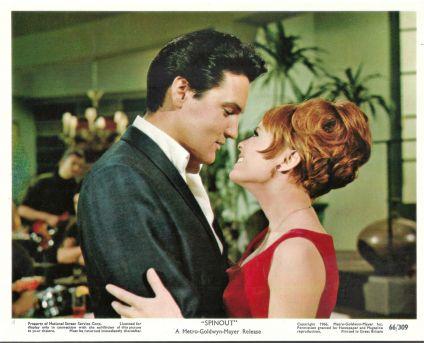Deborah Walley and Elvis