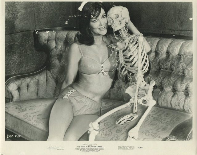 Ghost In The Invisible Bikini '66 SKELETON SEXY