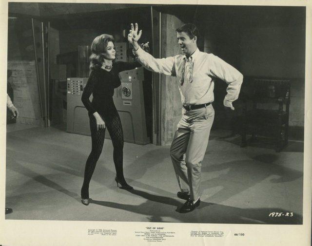KAREN JENSEN JONATHAN DALY in Out Of Sight '66 DANCING