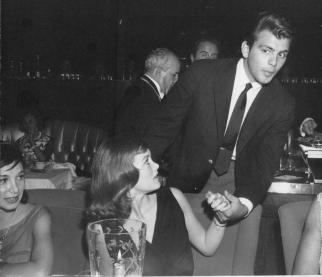 Quinn O'Hara Fabian Forte with Quinn O'Hara, 1963-1a