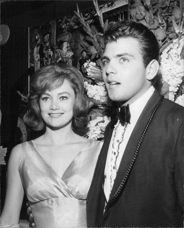 Quinn O'Hara Fabian Forte with Quinn O'Hara, 1963