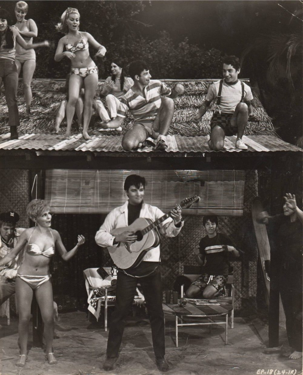 SPINOUT (1966) Elvis Presley _ Shelley Fabares orig MGM 8x10 photograph T603