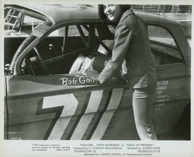Track of Thunder NASCAR Brenda Benet in Bobby Goodwin car movie photo 397