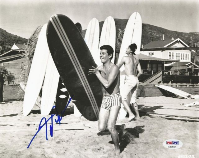 FRANKIE AVALON AUTOGRAPHED SIGNED VENUS BEACH PARTY PSA_DNA 8X10 PHOTO