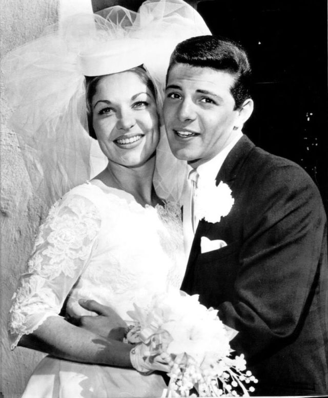 Kay Diebel and Frankie Avalon