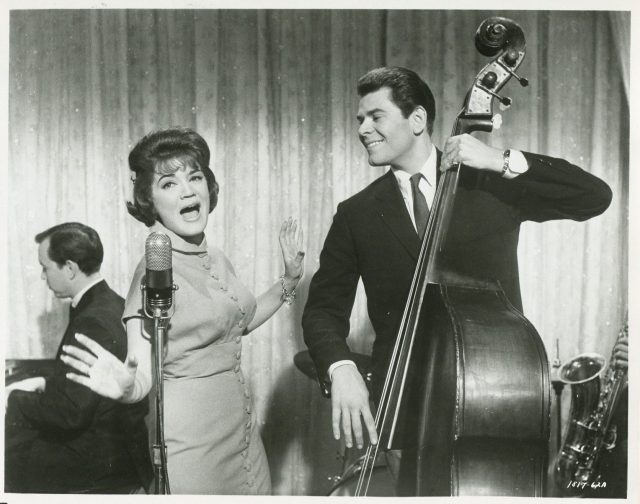 Looking For Love '64 CONNIE FRANCIS JOBY BAKER DOUBLE BASS MICROPHONE