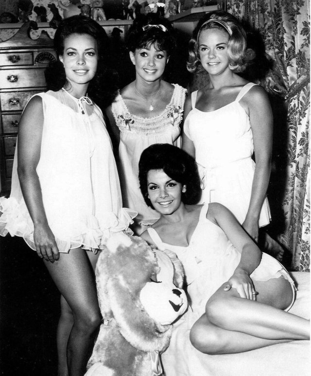 Pajama Party 1965 promo Annette, Donna, Susan Cheryl Sweetnam