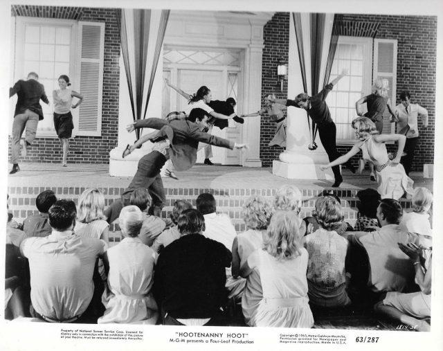 "Pam Austin Joby Baker dancing ""Hootenanny Hoot"" 1963 Rock & Roll photo 8""x10"""