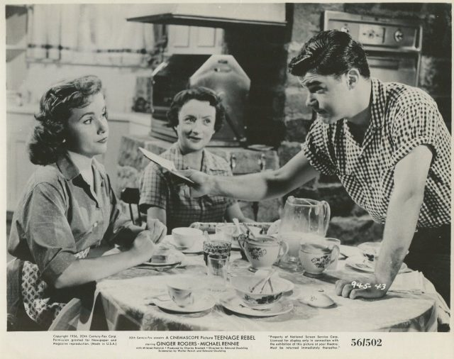 WARREN BERLINGER Teenage Rebel '56 DIANE JERGENS MILDRED NATWICK