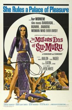 Million Eyes of Sumuru 1967 poster