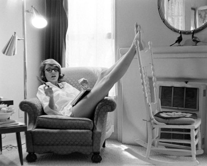 Paula Prentiss reading